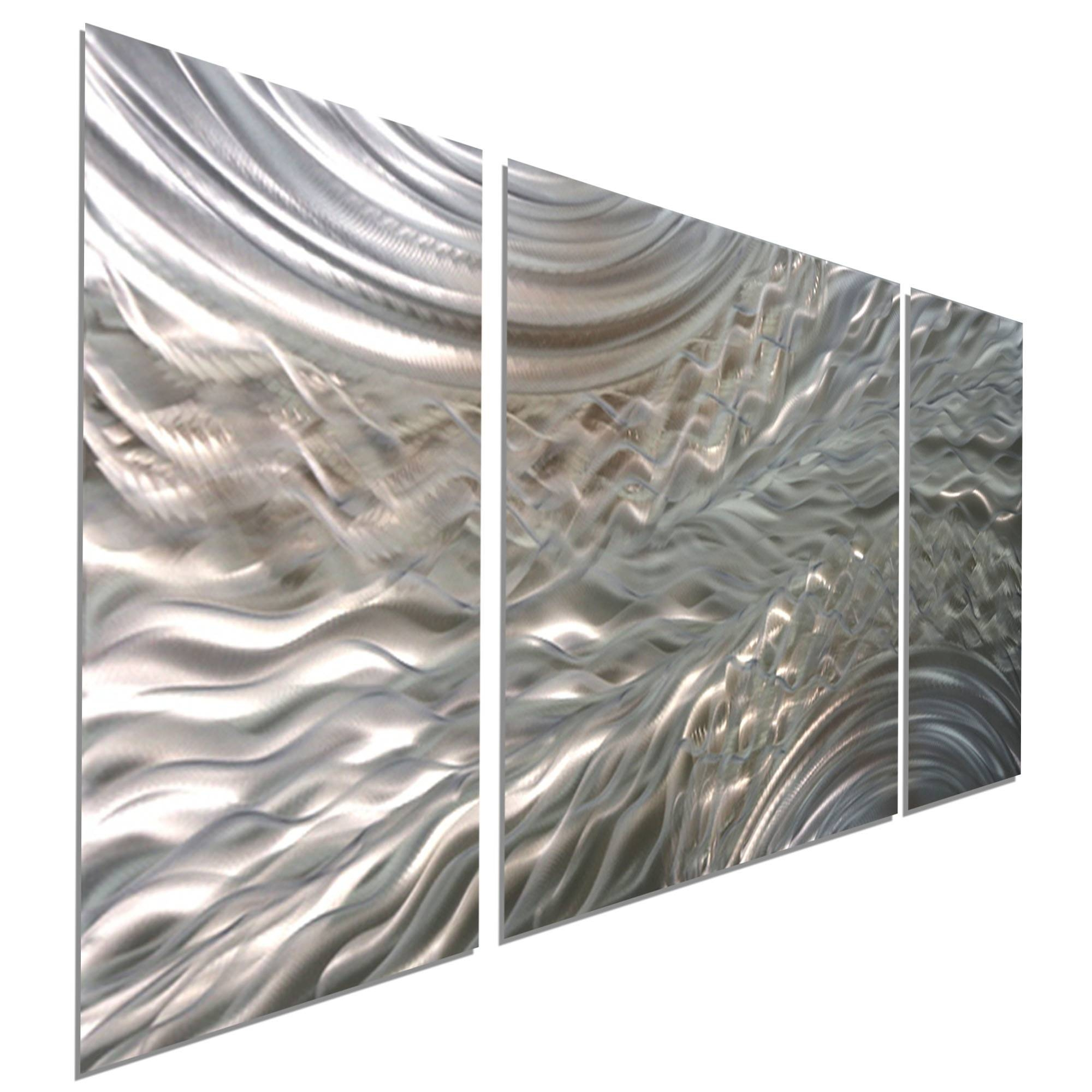 Metal Wall Art Handmade Panel Sculptures Regarding Most Recently