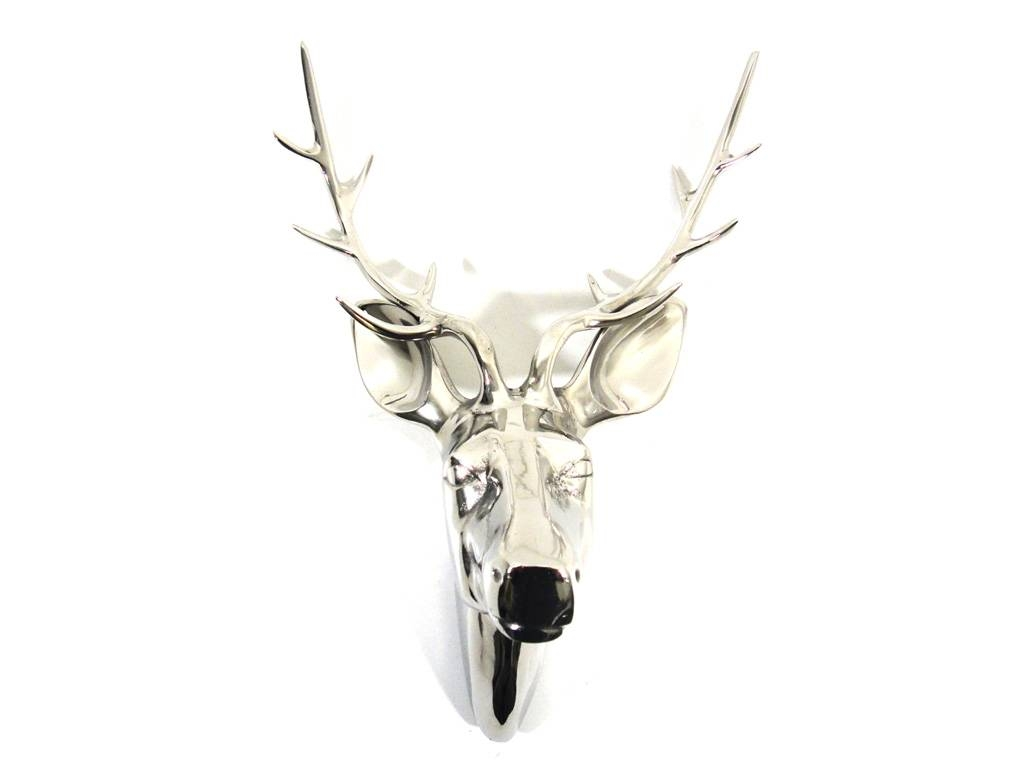 Metal Wall Art – Large Deer Stag Head With 2018 Stag Head Wall Art (View 13 of 20)