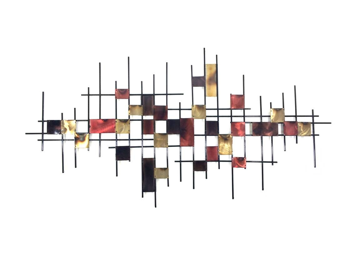 Metal Wall Art – Large Underground Abstract For Recent Large Abstract Metal Wall Art (View 10 of 20)