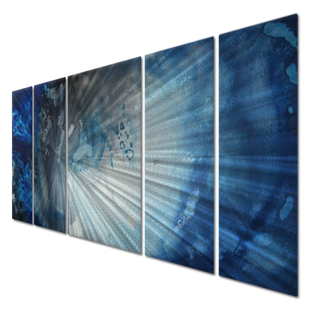 Metal Wall Art 'midnight' Megan Duncanson Modern Contemporary Home In Latest Megan Duncanson Metal Wall Art (View 13 of 25)