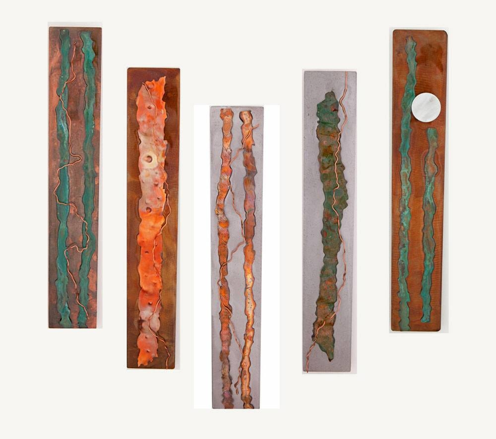 Metal Wall Art: Organic Serieskristen Hoard ($175) With Regard To Most Popular Rectangular Metal Wall Art (View 4 of 20)