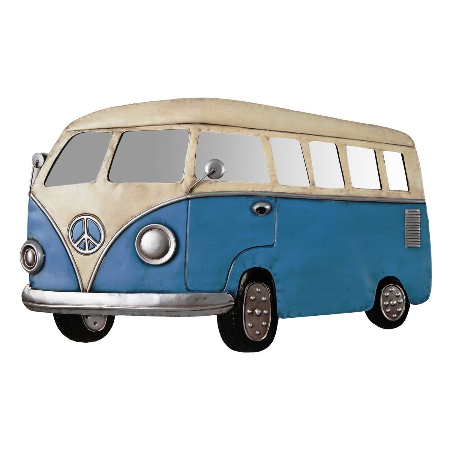Metal Wall Art Retro Camper Van | Decorcave Within Newest Campervan Metal Wall Art (View 7 of 20)