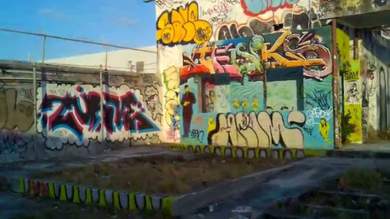 Miami Design District Graffiti Art Walls – Youtube With Regard To Most Up To Date Miami Wall Art (View 13 of 20)