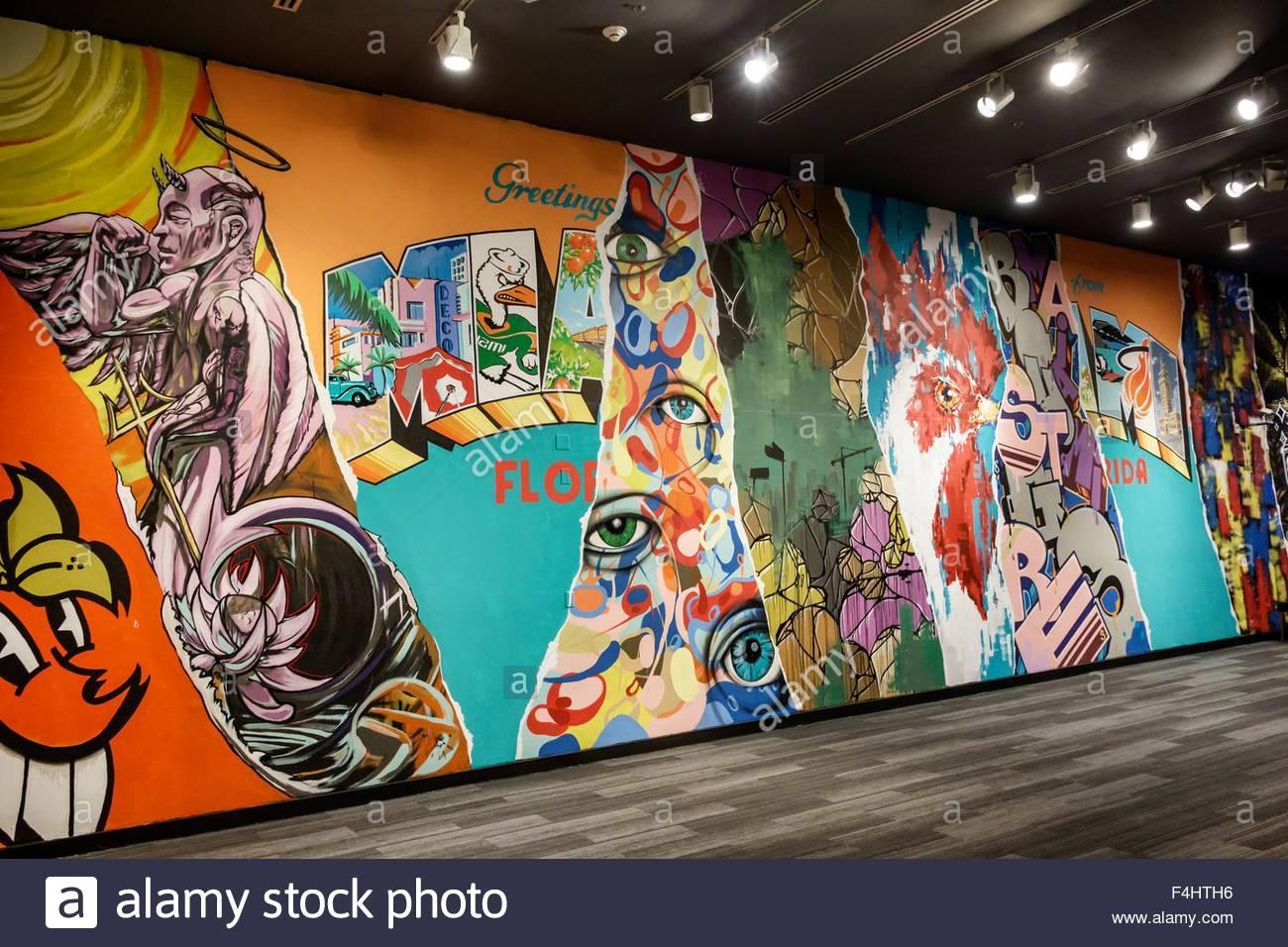 Miami Florida Miami Dade Cultural Center Centre Historymiami With Regard To Most Popular Miami Wall Art (View 14 of 20)