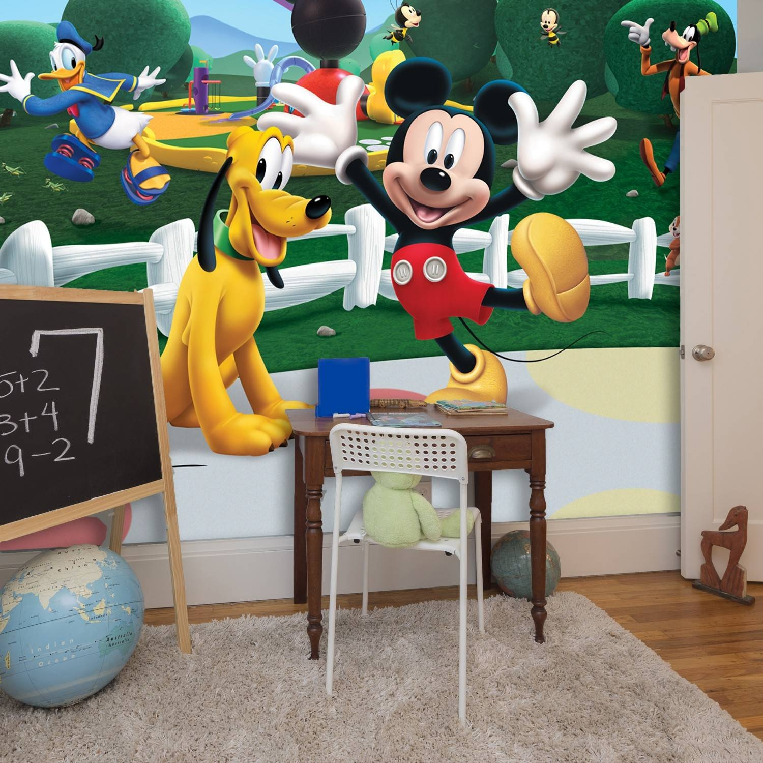 Mickey Mouse Clubhouse Wall Decals | Roselawnlutheran Throughout Most Recent Mickey Mouse Clubhouse Wall Art (View 10 of 20)