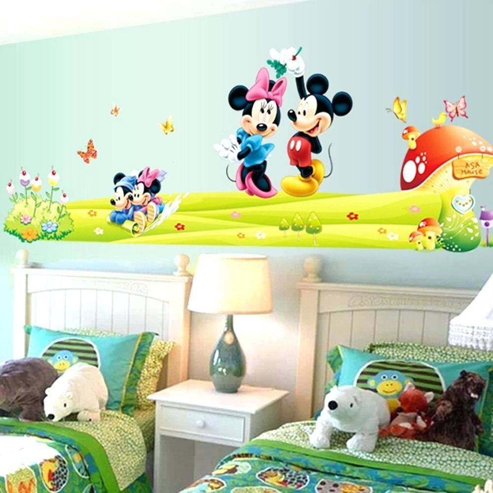 Mickey Mouse Decals For Wall Mickey Mouse Clubhouse Capers Mural X Inside Latest Mickey Mouse Clubhouse Wall Art (View 12 of 20)