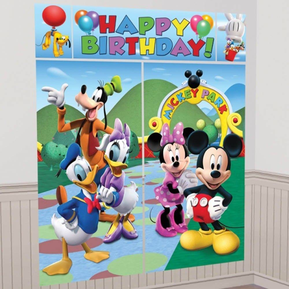 Mickey Mouse Decor | Ebay Pertaining To Most Popular Mickey Mouse Clubhouse Wall Art (View 13 of 20)