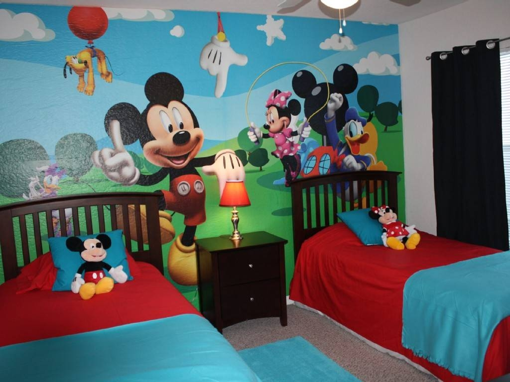 Mickey Mouse Room Decor — Unique Hardscape Design : Mickey Mouse Throughout Most Current Mickey Mouse Clubhouse Wall Art (View 14 of 20)
