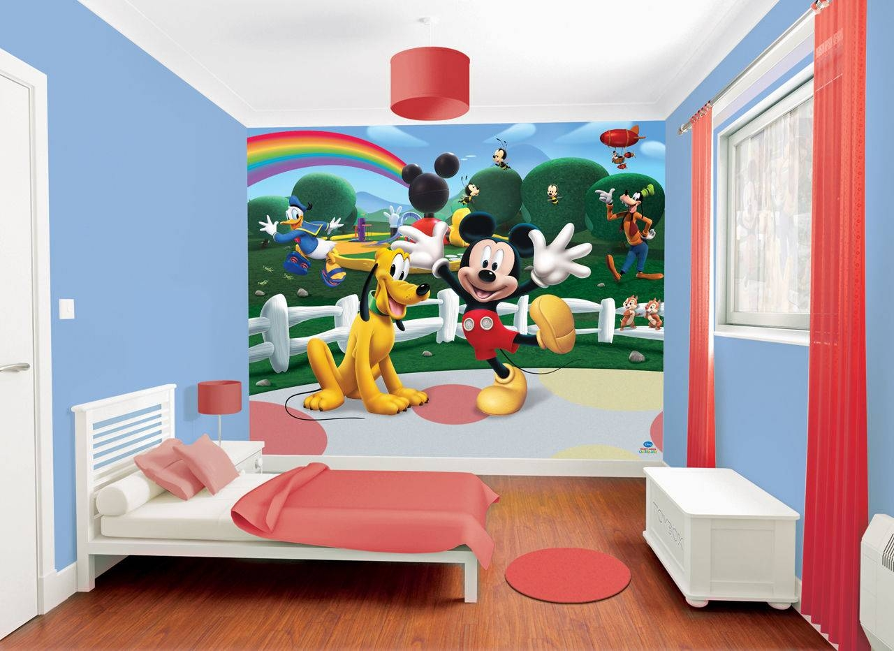 Mickey Mouse Wall Art Ideas – Minnie Mouse Room Decor For Intended For Most Popular Mickey Mouse Clubhouse Wall Art (View 15 of 20)