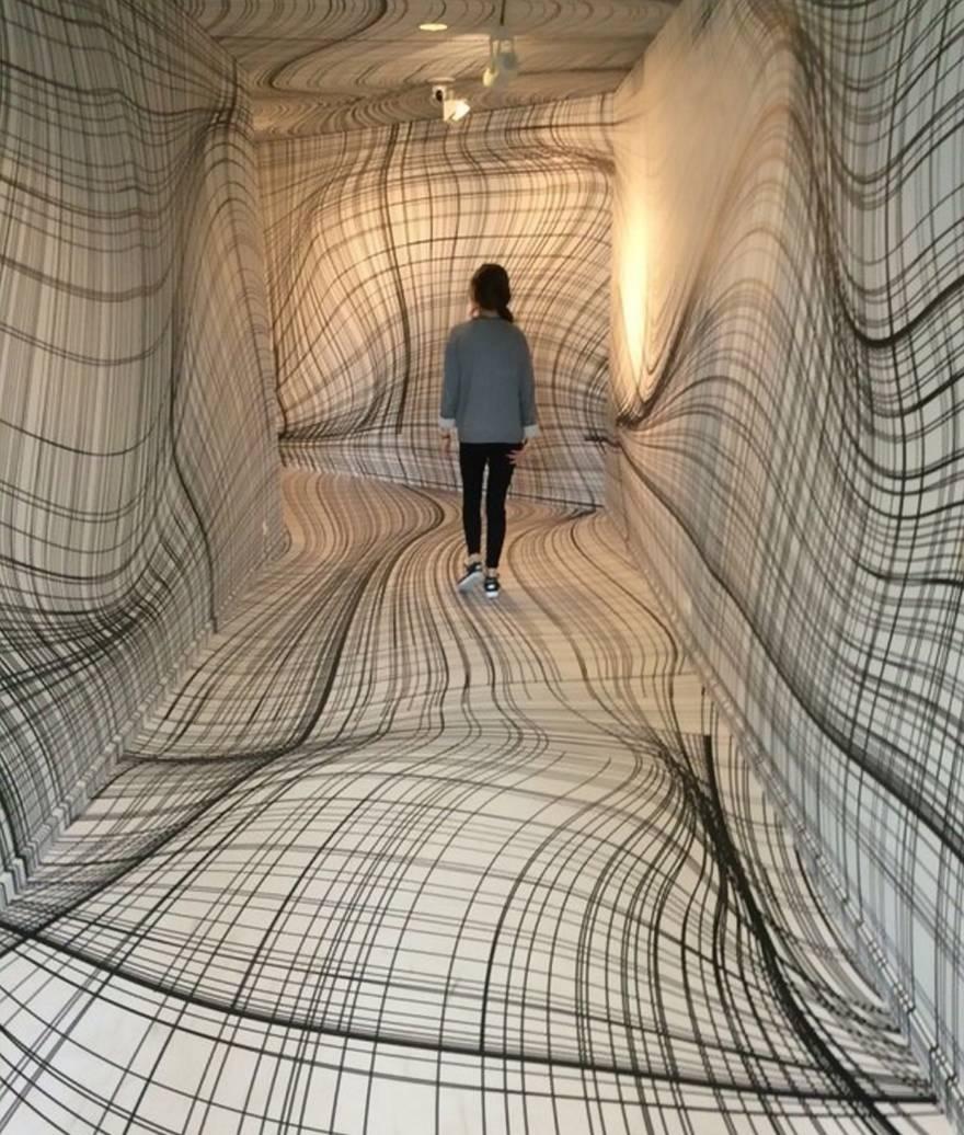 Mind Bending Room Illusionspeter Kogler | Veriy Regarding Latest Illusion Wall Art (View 12 of 20)