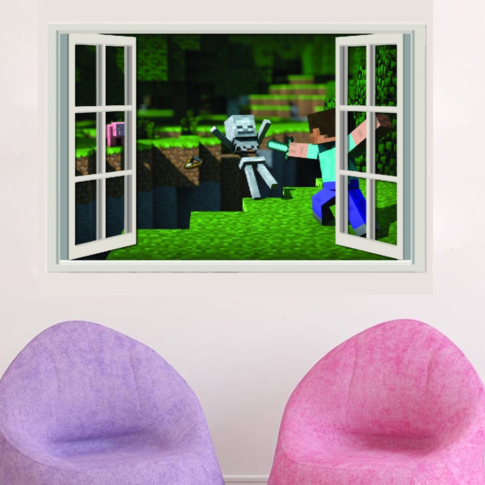 Minecraft 3D Creeper Wall Sticker 154 » Appachie In Newest Minecraft 3D Wall Art (View 9 of 20)