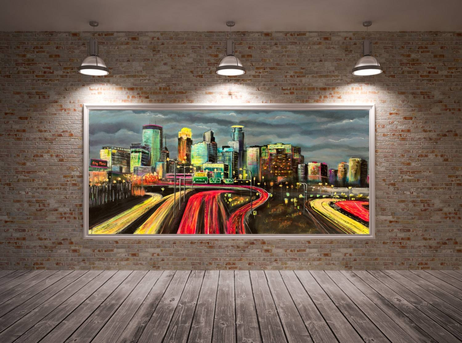Minneapolis Skyline Art Minneapolis Skyline Wall Art With Latest Minneapolis Wall Art (View 5 of 20)