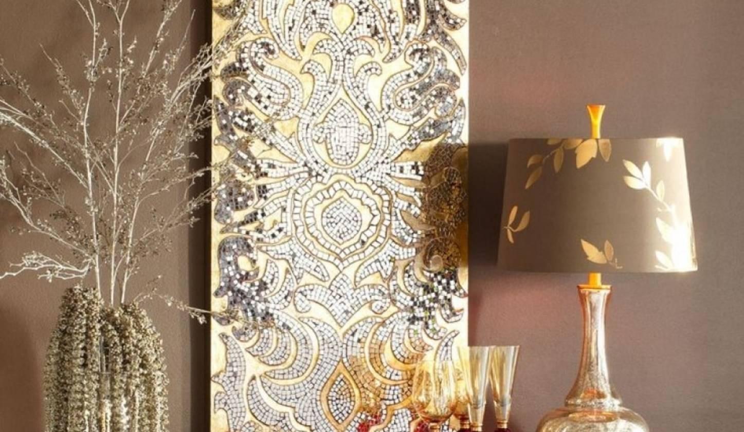 Mirror : Bk Amazing Mosaic Wall Mirror Amazon Com Ashton Sutton Regarding 2017 Mother Of Pearl Wall Art (View 9 of 15)