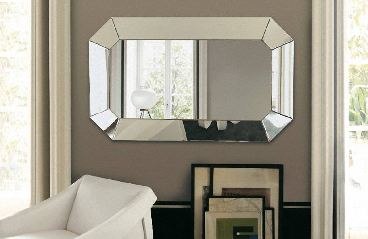 Mirror : Fascinating Large Art Deco Wall Mirror Intrigue Inside Best And Newest Large Vintage Wall Art (View 14 of 20)