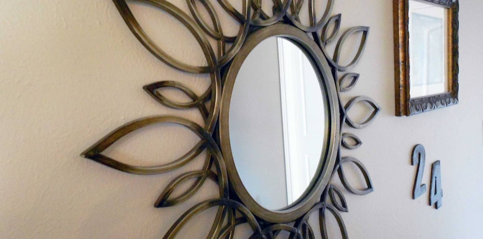 Mirror : Remarkable Funky Round Wall Mirrors Delight Funky Long Within Most Recent Mirror Circles Wall Art (View 17 of 20)