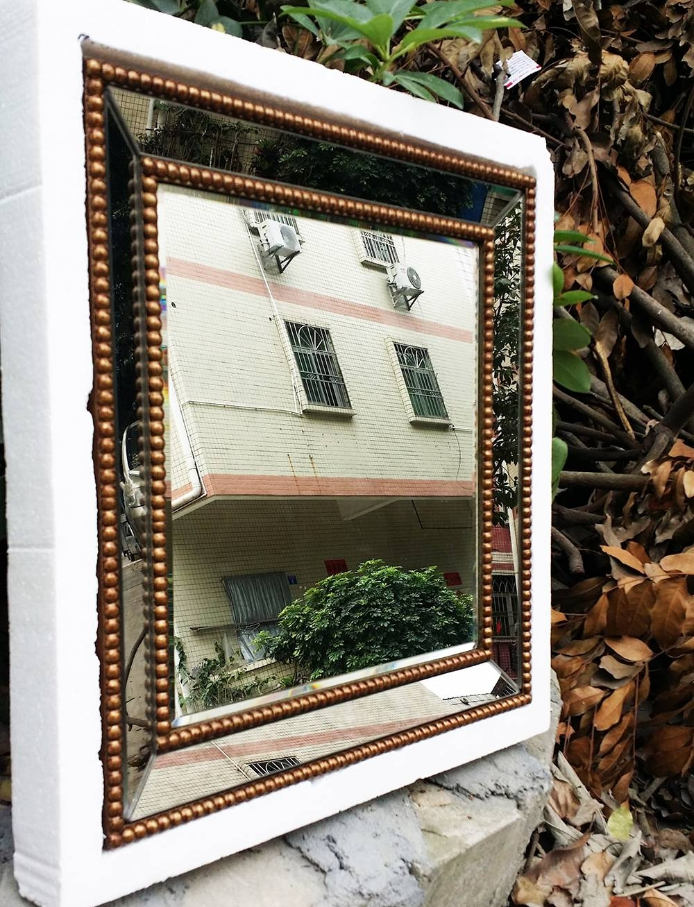 Mirrored Wall Decor Fretwork Square Wall Mirror Framed Wall Art With Regard To Current Fretwork Wall Art (View 16 of 25)