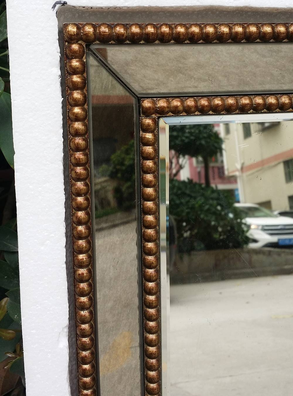 Mirrored Wall Decor Fretwork Square Wall Mirror Framed Wall Art Within Recent Fretwork Wall Art (View 19 of 25)