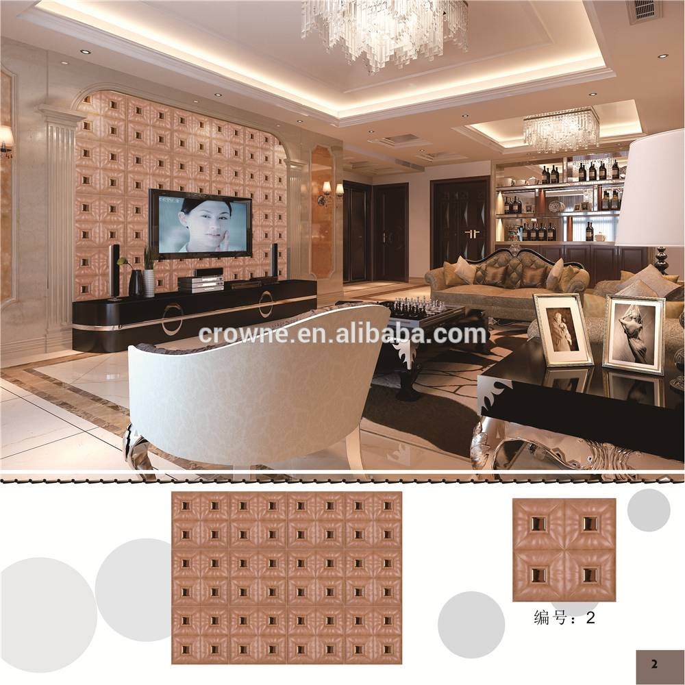 Modern 3d Effect Wall Last Supper Wall Tile Art Decor Romantic For Recent 3d Effect Wall Art (View 3 of 20)