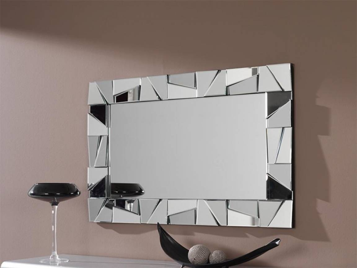 Modern Bathroom Wall Mirrors Metal Artwork Modern Wall Decor Intended For Newest Contemporary Mirror Wall Art (View 16 of 20)