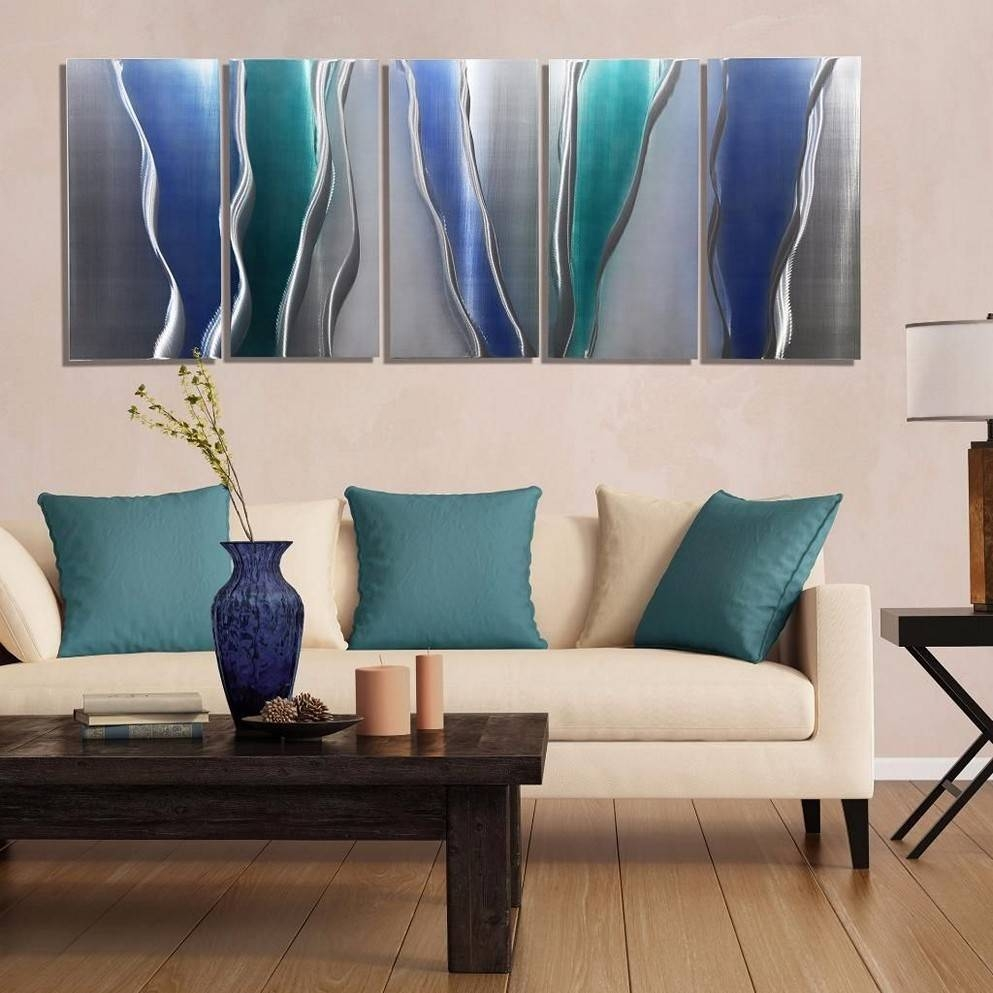 Modern Metal Wall Art Panels On A Budget For Latest Beach Theme Wall Art (View 4 of 20)