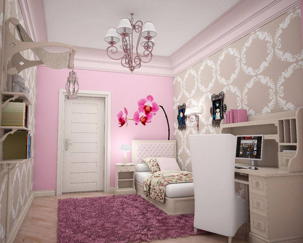 Modern Teenage Girl Bedroom Design Ideas Large World Wap Wall Art In Current Large White Wall Art (View 14 of 20)