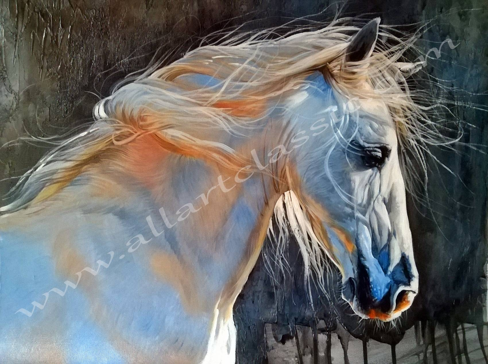 Modern Wall Art And Canvas Art With Regard To Recent Oil Painting Wall Art On Canvas (View 16 of 20)