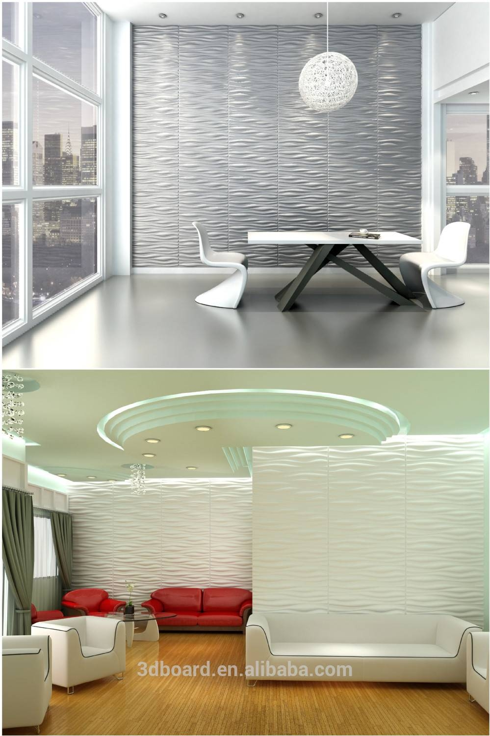 Modern Wall Art Decor Interior 3d Effect Wall Panels For Home Throughout Latest 3d Wall Art And Interiors (View 6 of 20)
