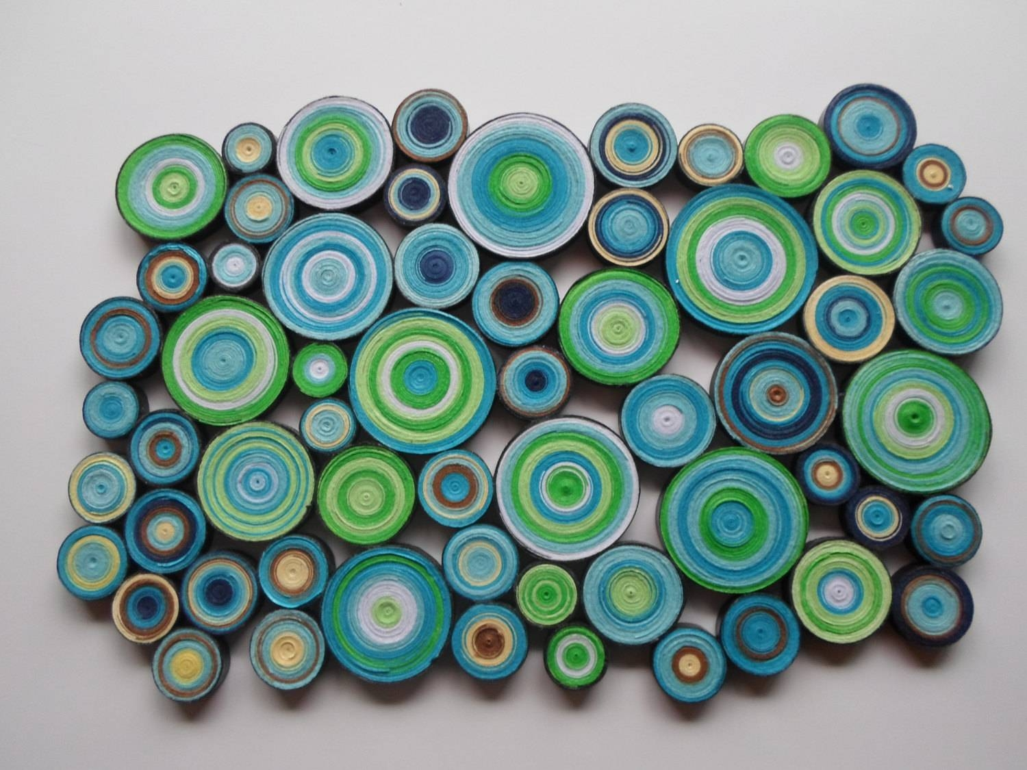 Featured Photo of Blue and Green Wall Art