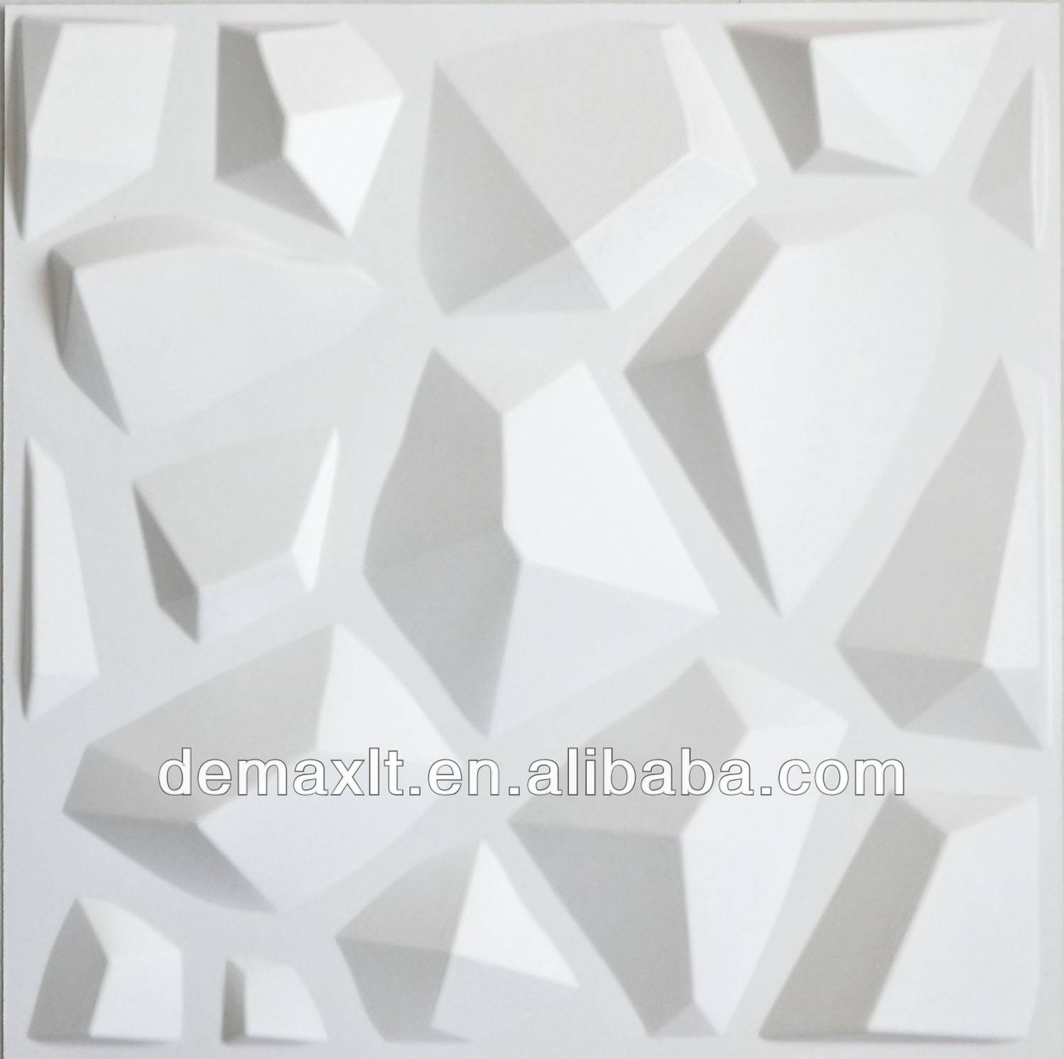 More In 3d On ~ Playuna Throughout Most Popular White 3d Wall Art (View 6 of 20)