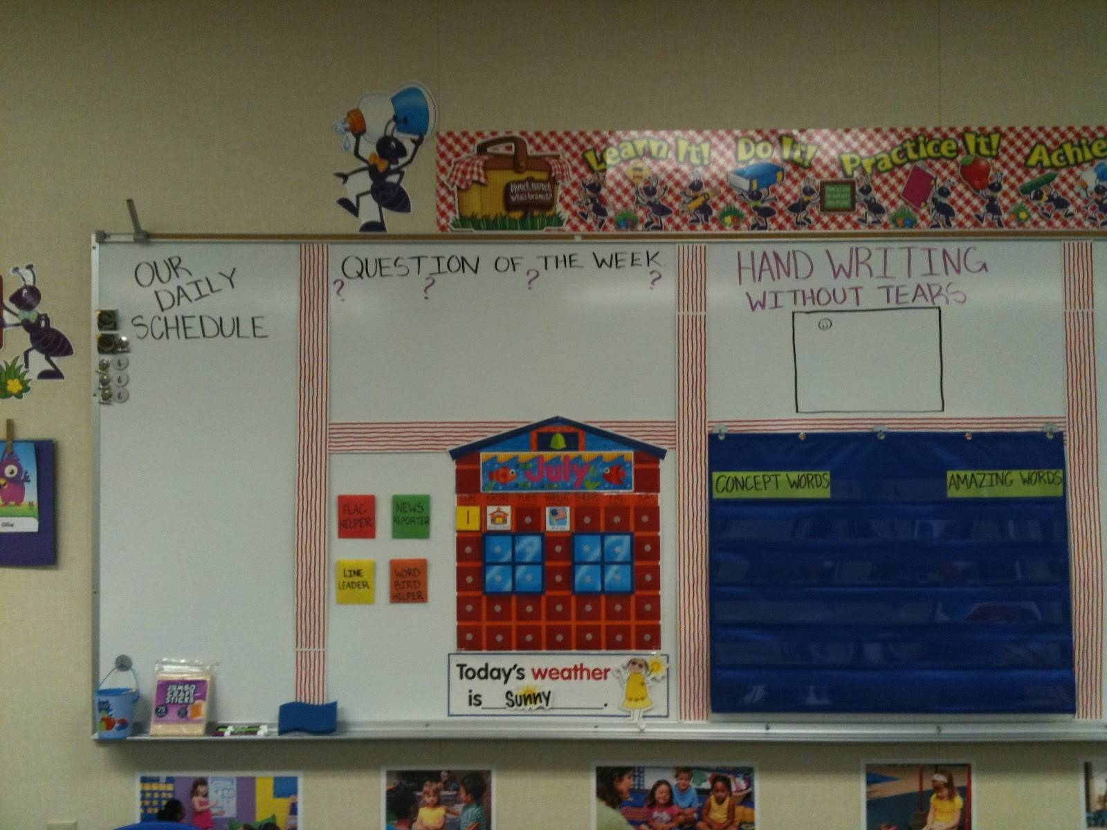 More Than Abc's And 123's: Preschool Classroom Set Up! In Best And Newest Preschool Wall Art (View 15 of 30)