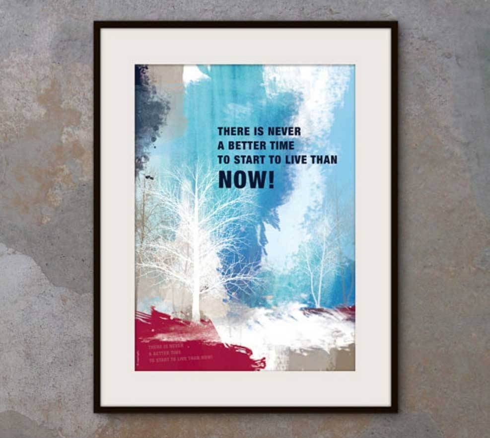 Motivational Wall Art For Office Framed A3 Size | Home Interior In Best And Newest Inspirational Wall Art For Office (View 9 of 20)