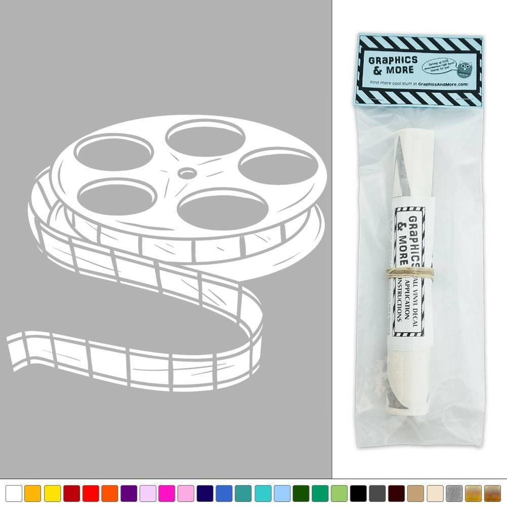 Movie Film Reel Vinyl Sticker Decal Wall Art Décor | Ebay In Most Up To Date Film Reel Wall Art (View 15 of 30)