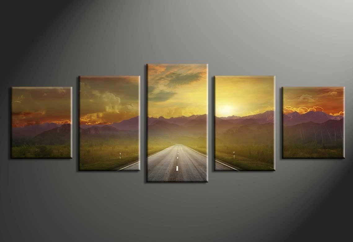 Multiple Canvas Wall Art Ideas • Wall Decorating Ideas Throughout Most Current Multiple Canvas Wall Art (View 3 of 20)