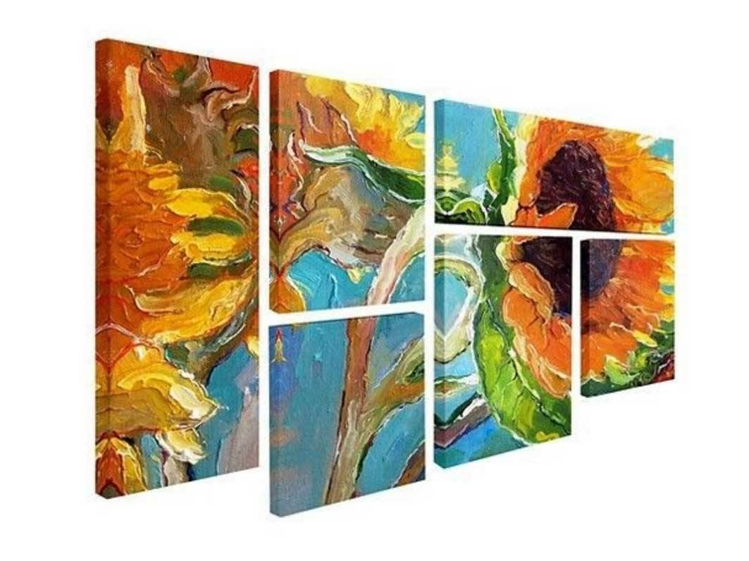Multiple Piece Wall Art With 6 Piece Wall Art Ideas | Home Inside Newest Multiple Piece Wall Art (View 12 of 20)