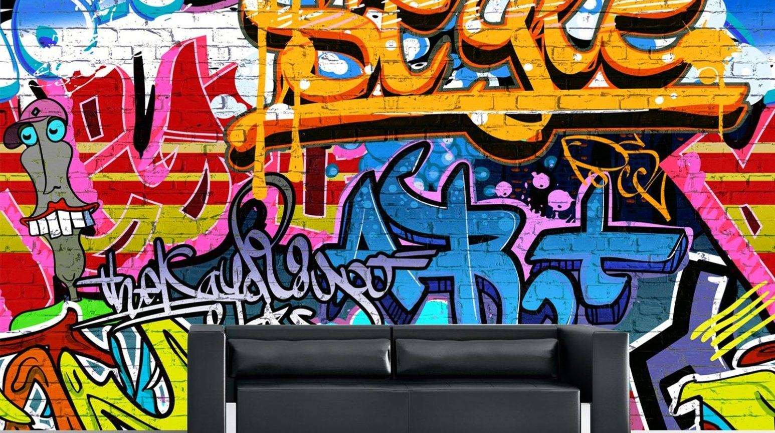 Mural : 15houstonwallsyougottasee Amazing Graffiti Wall Mural Throughout 2018 Personalized Graffiti Wall Art (View 16 of 30)