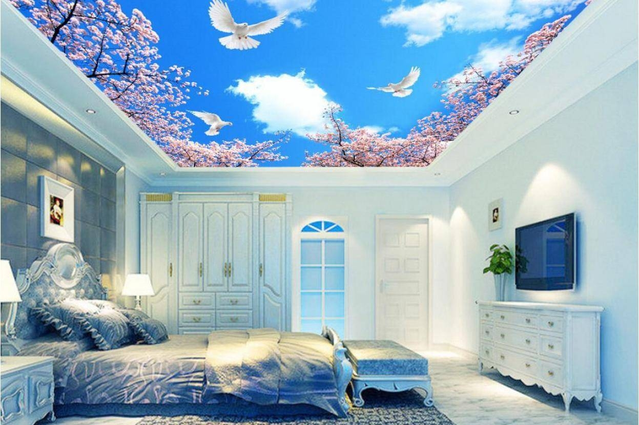 Mural : Alluring Full Wall Art Wallpaper Incredible Full Wall Art In Current Unusual 3D Wall Art (View 14 of 20)