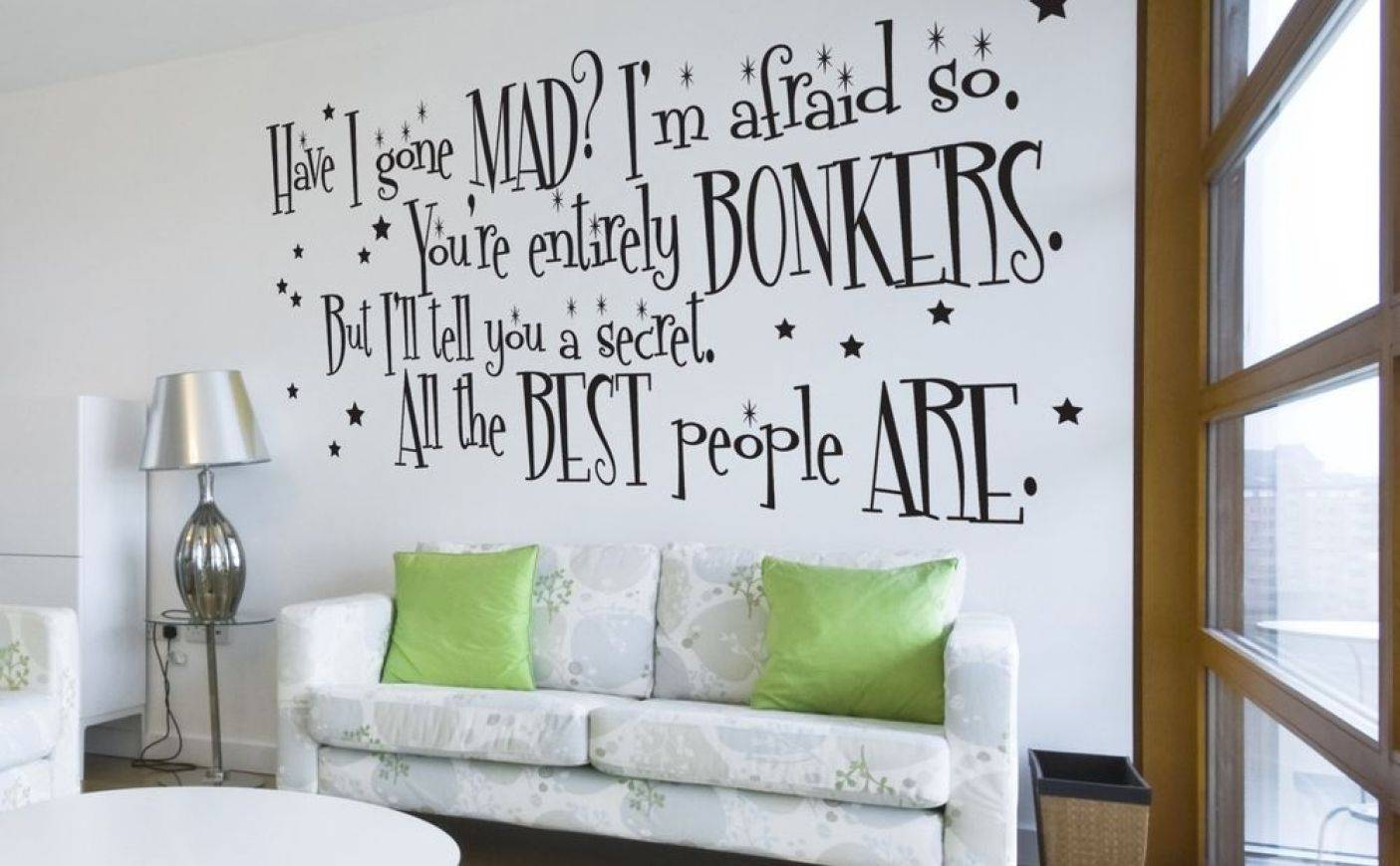 Mural : Awesome Alice In Wonderland Wall Mural Alice In Wonderland Within Recent Tim Burton Wall Decals (View 10 of 20)