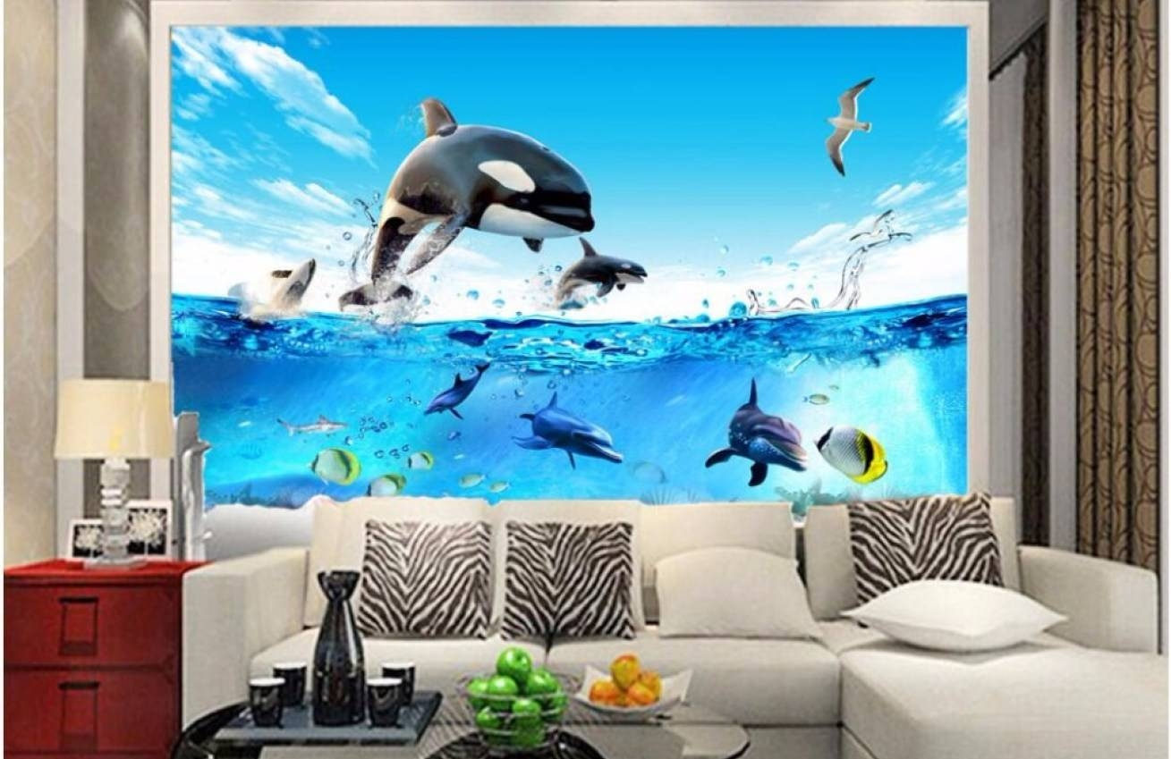 Mural : Beautiful Wall Murals Art 3D Vintage Alley Wallpaper In Most Recent Vintage 3D Wall Art (View 10 of 20)