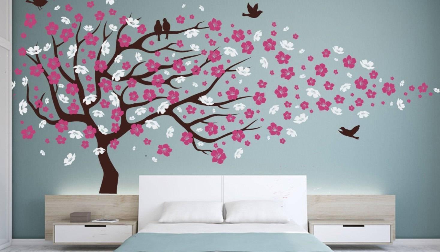Mural : Beautiful Wallpaper Mural Art Chic Chinoiserie Hand Pertaining To 2017 Chinoiserie Wall Art (View 22 of 30)