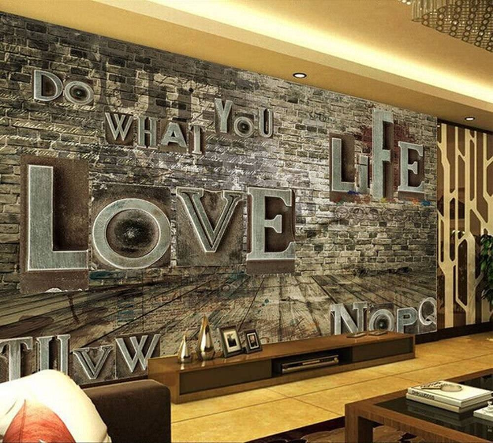 Explore Photos of 3D Wall Art Wallpaper Showing 13 of 20 Photos