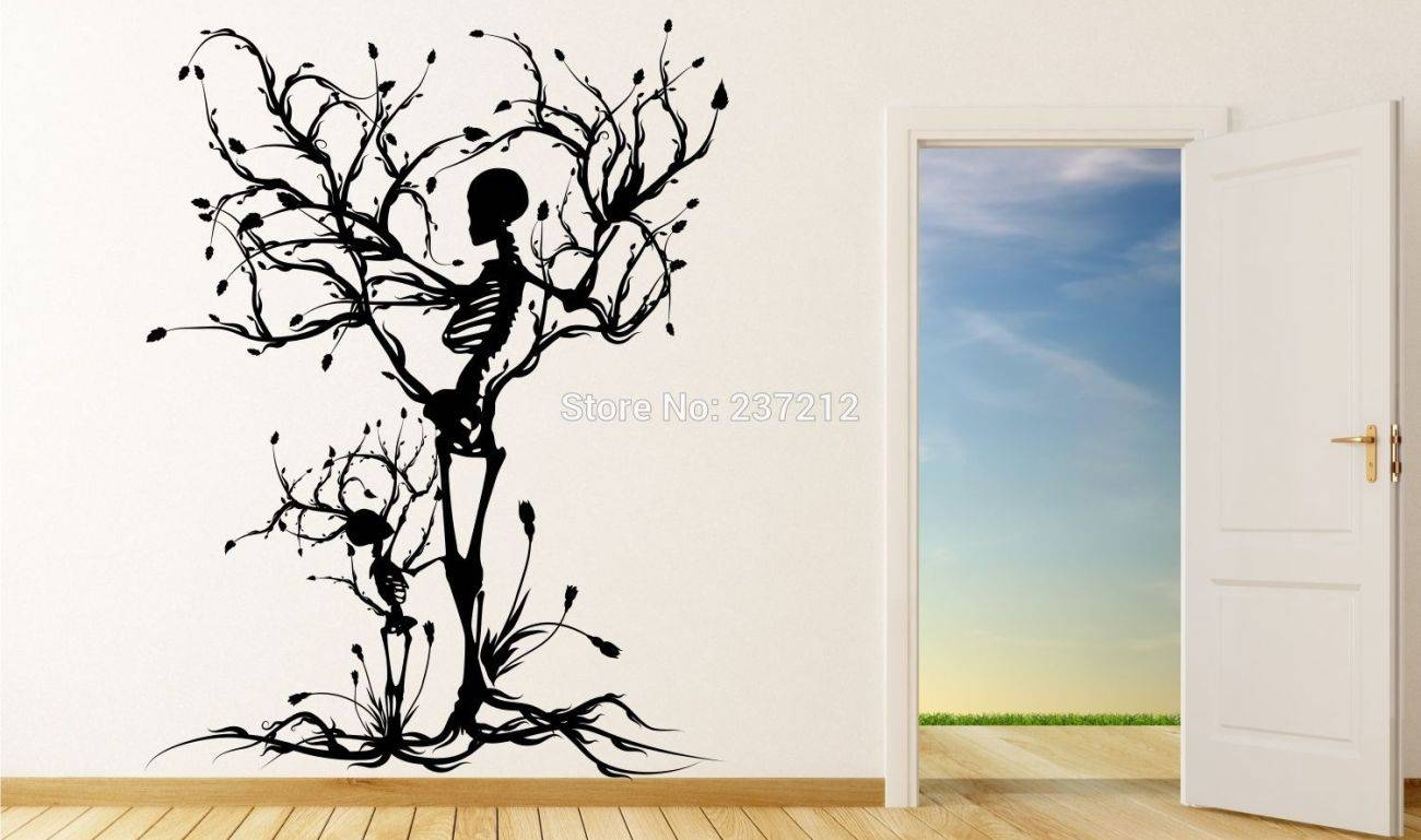 Mural : Large Vinyl Wall Murals Imposing Giant Vinyl Wall Decals Within 2017 Red Cherry Blossom Wall Art (View 24 of 30)