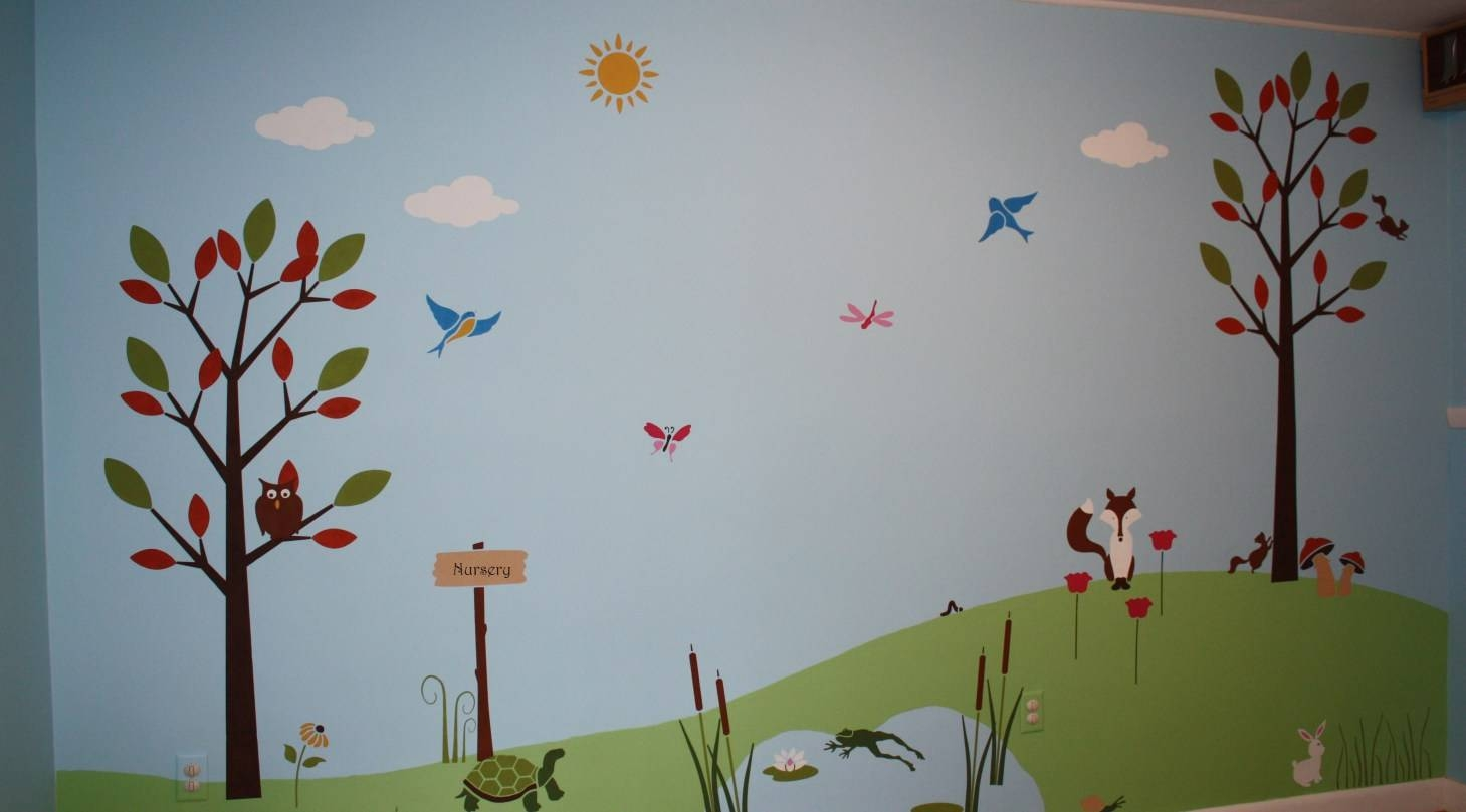 Mural : Signs Decor Airbrush Wall Art Gifts Painting Murals For Most Recently Released Airbrush Wall Art (View 13 of 20)