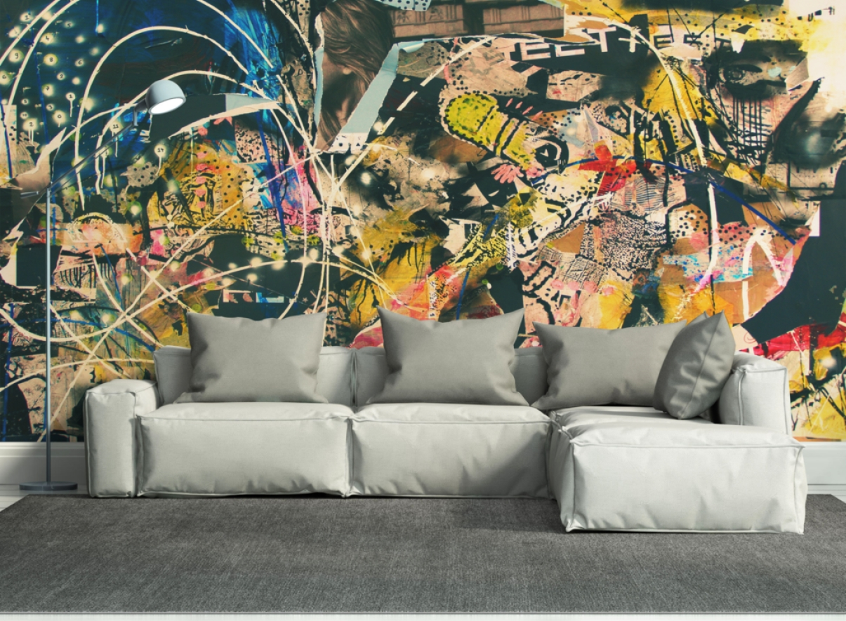 Mural : Wall Murals Beautiful Wallpaper Mural Art Best 25 Wall With Regard To Most Popular Pop Art Wallpaper For Walls (View 10 of 20)