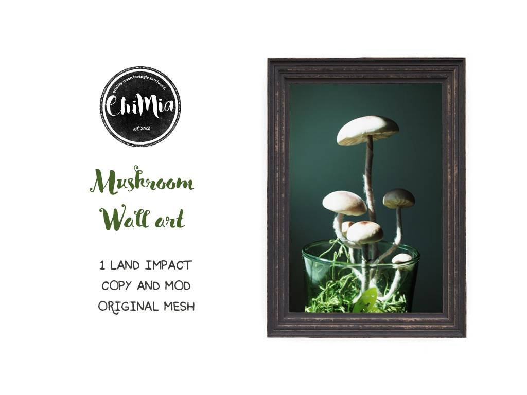 Mushroom Wall Art – Chimia Within Most Recently Released Mushroom Wall Art (View 9 of 20)
