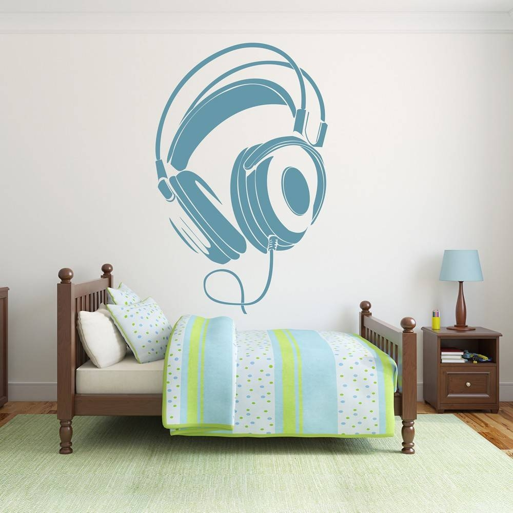 Musical Instrument Wall Stickers | Iconwallstickers.co (View 16 of 25)