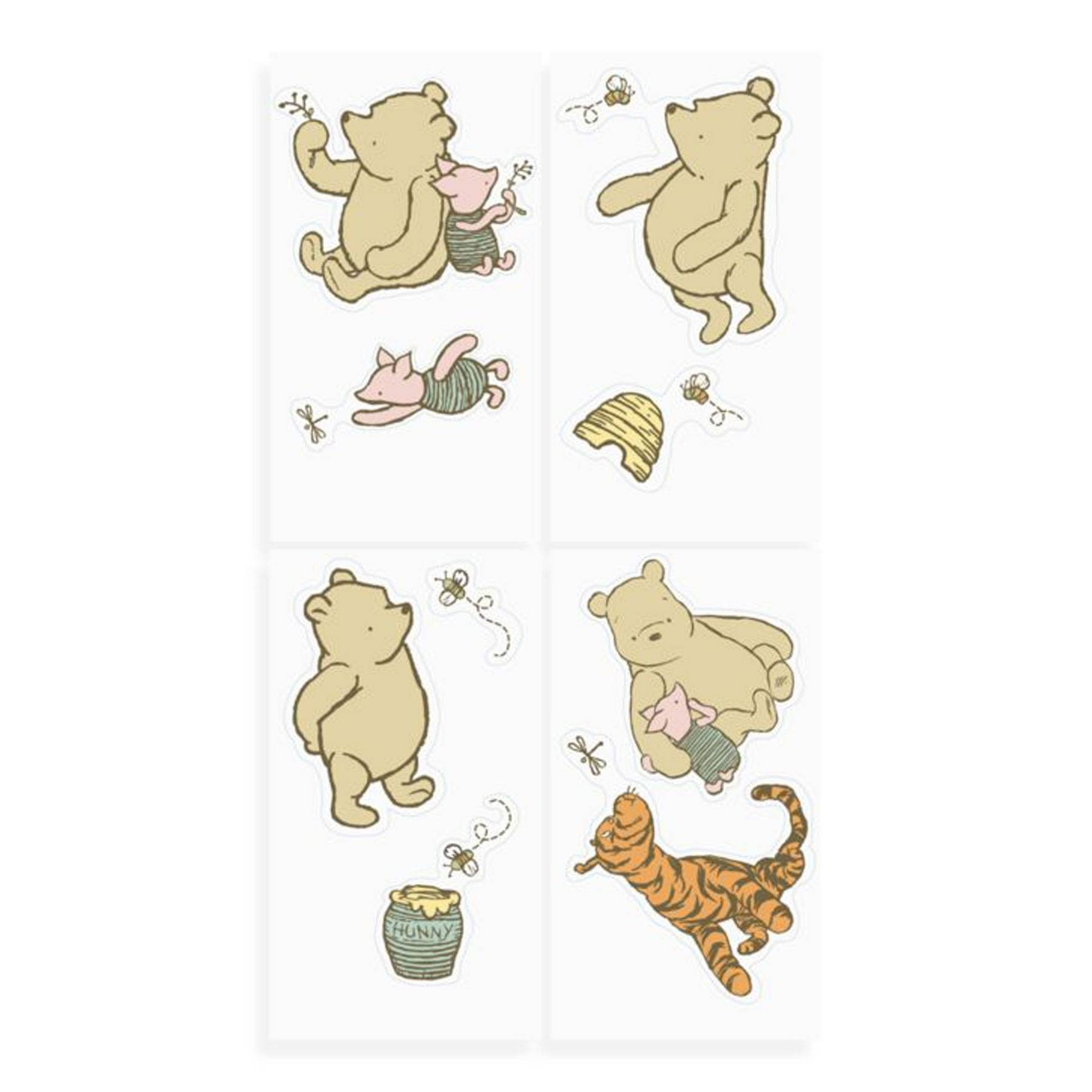 My Friend Pooh Wall Decals | Disney Baby With Recent Winnie The Pooh Wall Decor (View 10 of 20)