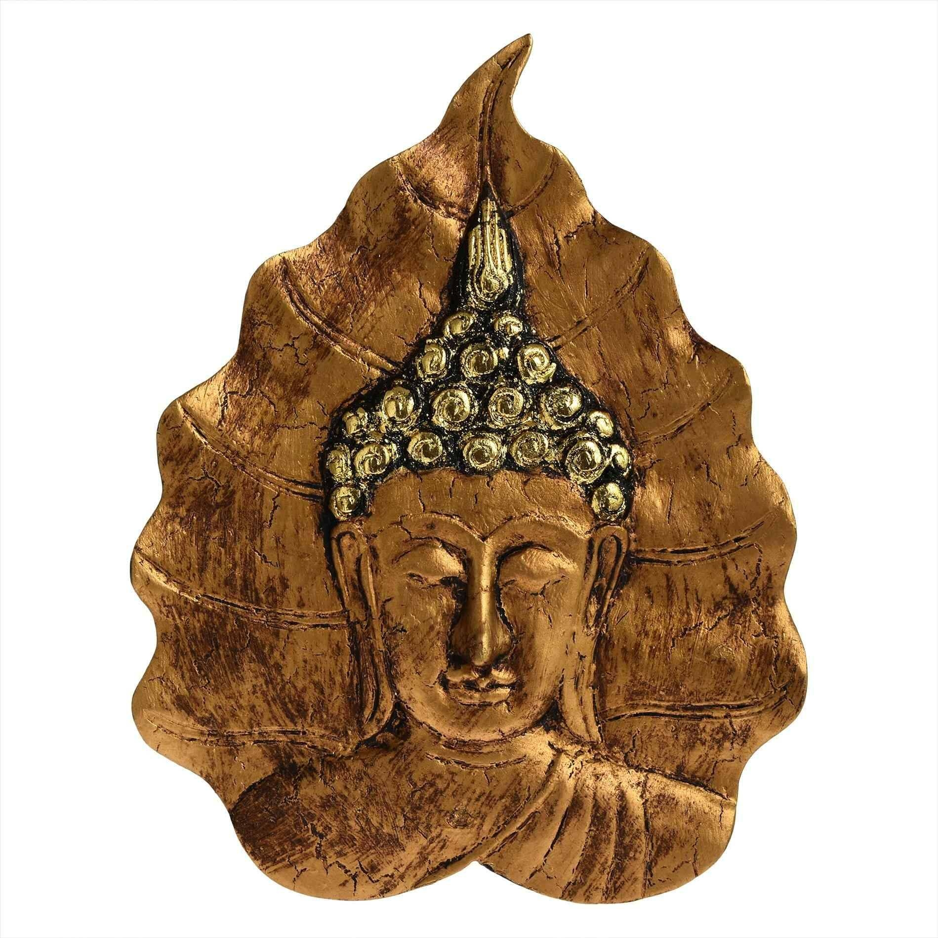Natural Shine Buddha Wooden Mask Wall Art Decor Design Bed Bath Throughout 2017 Buddha Wood Wall Art (View 9 of 20)