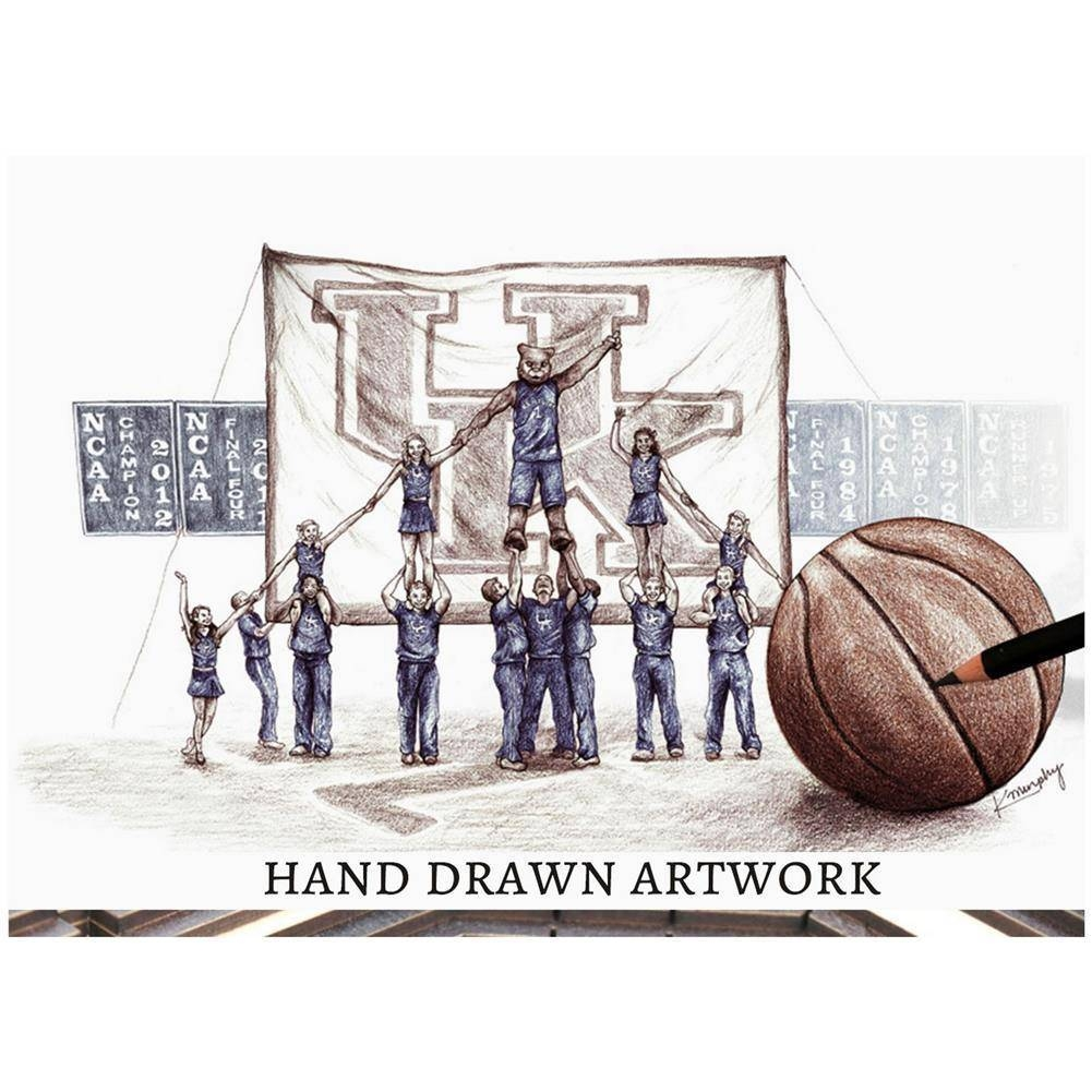 Ncaa Kentucky Wildcats Basketball 3d Stadium View Wall Art Rupp With Regard To Best And Newest 3d Stadium View Wall Art (View 16 of 20)