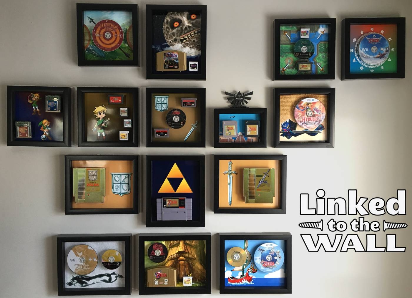 New Kickstarter Flips Your Old Gaming Cartridges Into Stunning Art With Regard To Most Recently Released Video Game Wall Art (View 14 of 30)