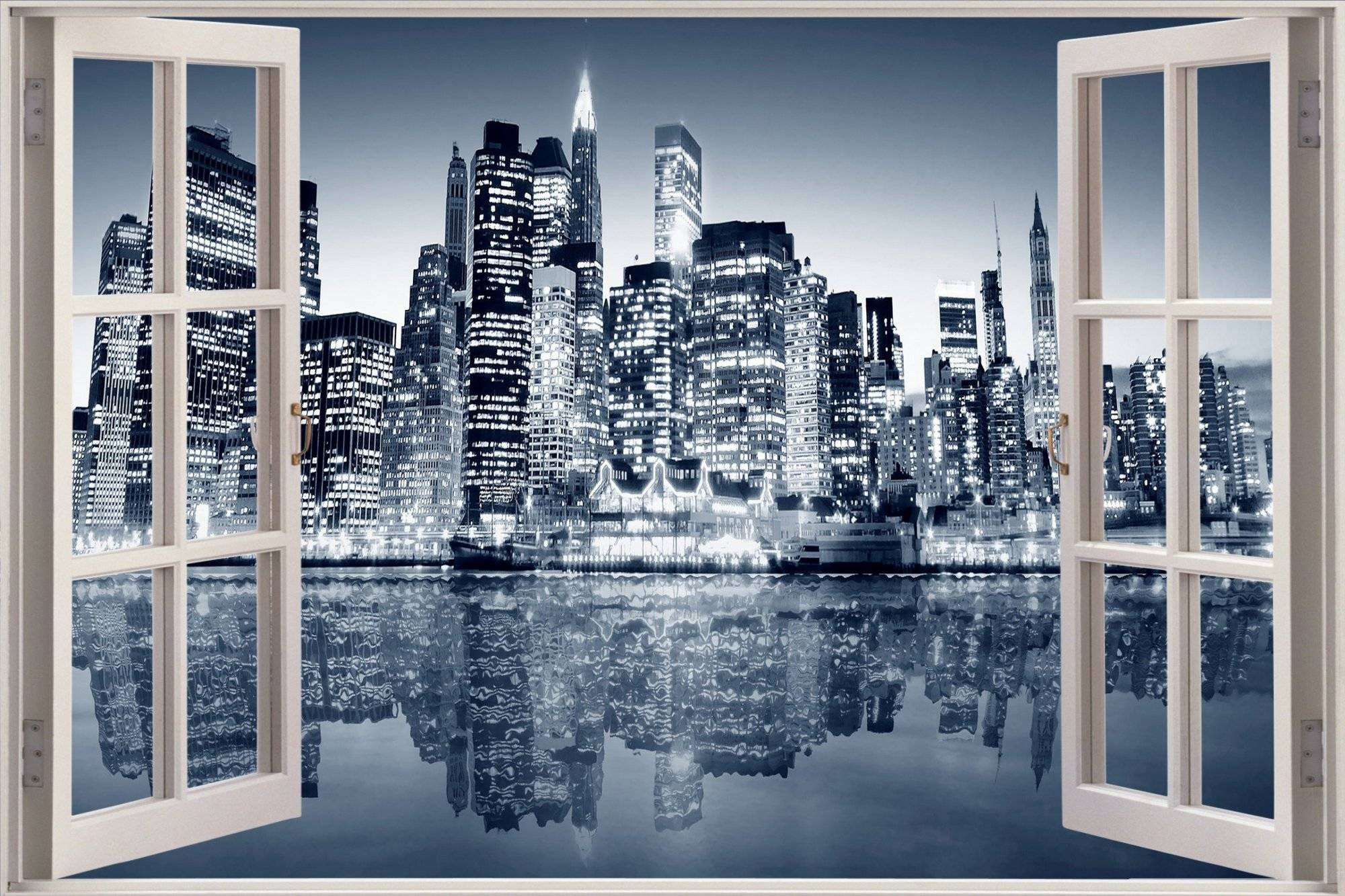 New York 3d Wall Art | Wallartideas Pertaining To Most Up To Date New York 3d Wall Art (View 5 of 20)